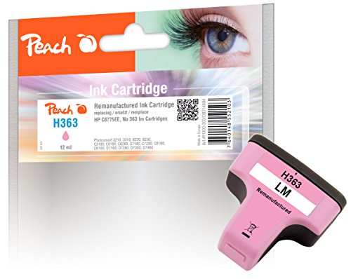 Peach Tintenpatrone magenta light kompatibel zu HP No. 363, C8775EE (7250 Hp-drucker)