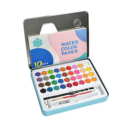 Materiali per preparazione colori pittura