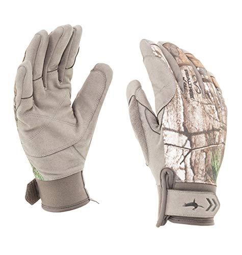 SealSkinz Tarnung Drachen Augen Handschuhe Realtree Xtra/Beige - Verschiedene Farben, Large