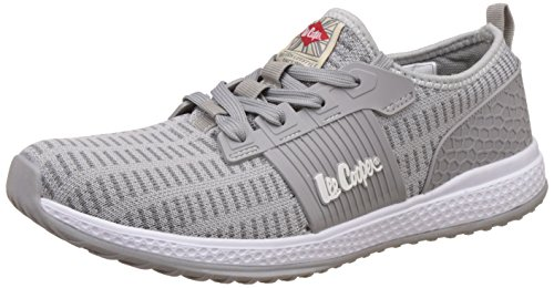 Lee Cooper Men's Grey Sneakers - 7 UK/India (41 EU)