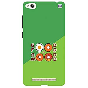 Good Food Good Mood - Mobile Back Case Cover For Xiaomi Redmi 3S