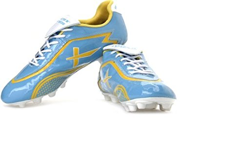 Vector X Argentina 001 Football Shoes, Men's UK 6 (Sky Blue/Yellow)
