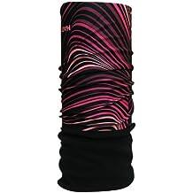 Pañuelo HAD Head Accessoires Original, Waves Berry Fleece/Black WF (tela polar ondas color baya/negro), talla única, HA210-0131