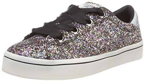 Skechers Hi Lite - Glitz-n-Glam, Scarpe da Ginnastica Bambina, Multicolore (Multi Mlt), 36 EU