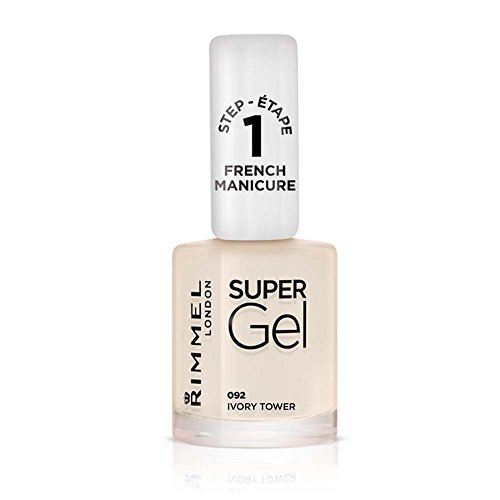 Rimmel London French Manicure # 091Supergel, English Rose, 12ml. - Ultra Shine Top Coat