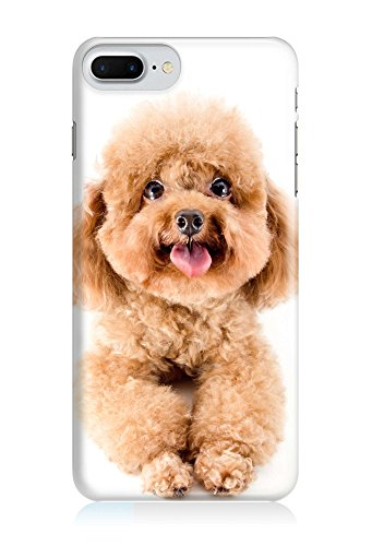COVER Hund Pudel Welpe Design Handy Hülle Case 3D-Druck Top-Qualität kratzfest Apple iPhone 8