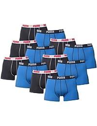 PUMA Herren Basic Boxer Boxershort Unterhose 12er Pack