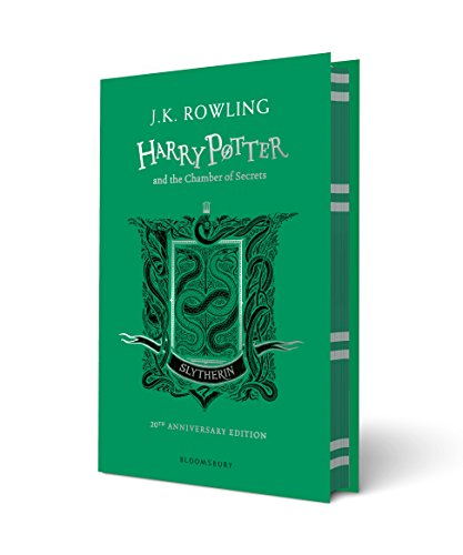 Harry Potter, Tome 2 : Harry Potter and the Chamber of Secrets : Slytherin 20th Anniversary Edition par J.K. Rowling