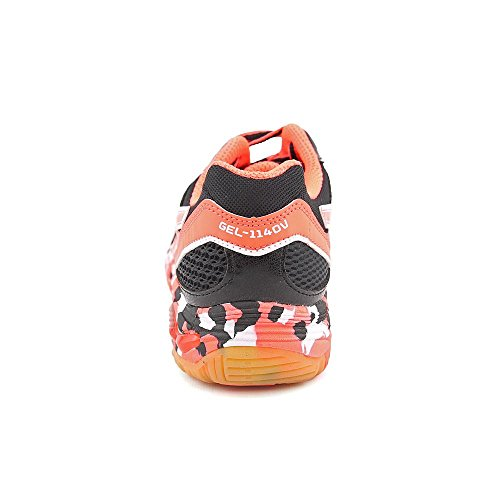 Asics Gel-Volleycross 3 Synthétique Baskets Black-neon melon-White