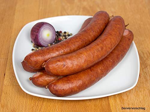 Kohlwurst/Bregenwurst geräuchert 2 Packungen zu 5x100g - Mettwurst für den deftigen Eintopf -...