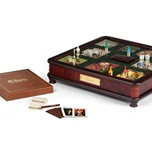Clue Luxury Edition Board Game by Winning Solutions by Winning Solutions