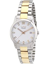 Dugena Damen-Armbanduhr XS Premium Analog Quarz Edelstahl 7000102