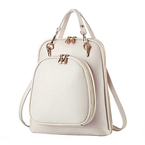 Handtasche Für Frauen Lässig Umhängetasche White