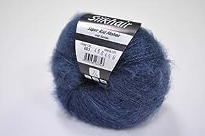 Lana grossa silkhair pelote de laine fb. 083 nuit