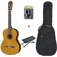 Pack Yamaha C40 - Guitare Classique (+ housse, repose pied et accordeur)
