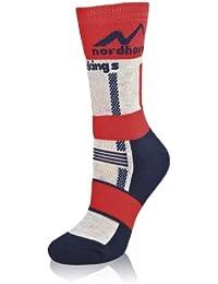NORDHORN ® JUNIOR chaussettes de ski et snowboard - THERMOLITE / COOLMAX