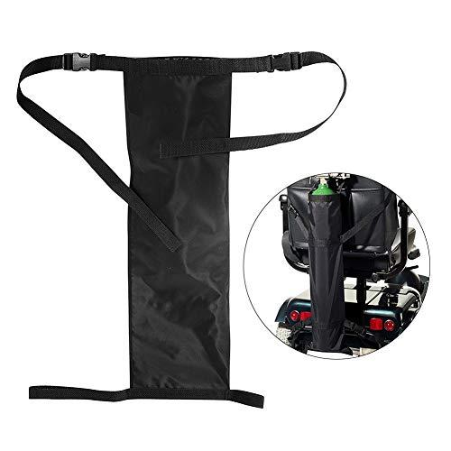 nakw88 Sauerstoffflaschenhalter für Rollstühle mit Schnallen, 70x25cm -