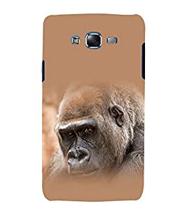 printtech Nature Animal Gorilla Back Case Cover for Samsung Galaxy J1 / Samsung Galaxy J1 J100F