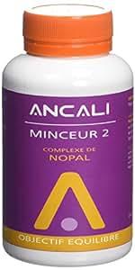 ANCALI Complément Minceur 2 Nopal Modérateur d'Appétit 200 Gélules