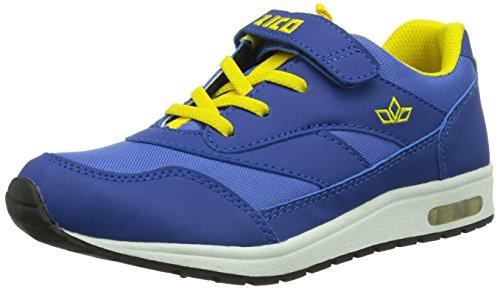 Lico Cool VS Unisex-Kinder Sneakers Blau (blau/gelb)