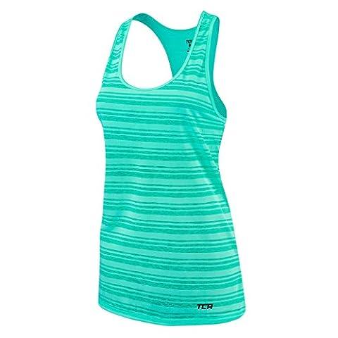Women's TCA Ultralite Running Tank Sleeveless Vest Top - Aqua