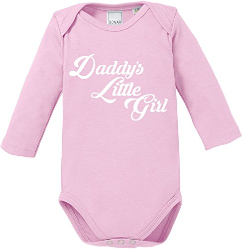 EZYshirt® Daddy´s little Girl Baby Body Longsleeve (Shirt Girl Daddys)