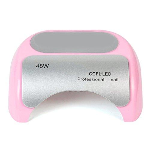 Cris Nails ® Secador de uñas de inducción automático con temporizador CCFL...