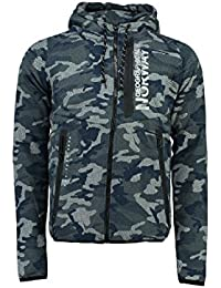 Geographical Norway - Sweat à capuche Homme Geographical Norway Gocamo Marine