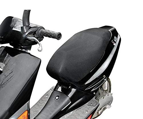 Lampa 91432 Air-Grip, Funda para sillín de Moto Maxi-Scooter, L (74 x 100 cm)