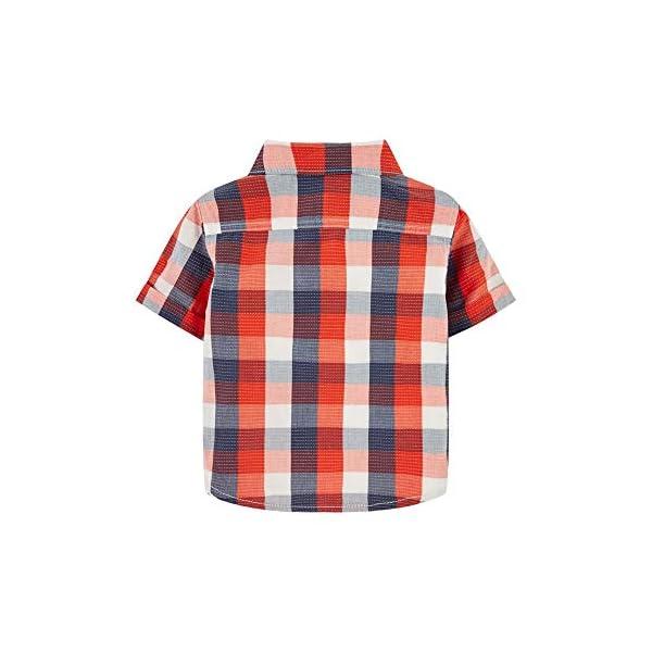 Mothercare MB Rp Check Shirt & tee SS Camiseta para Bebés 2