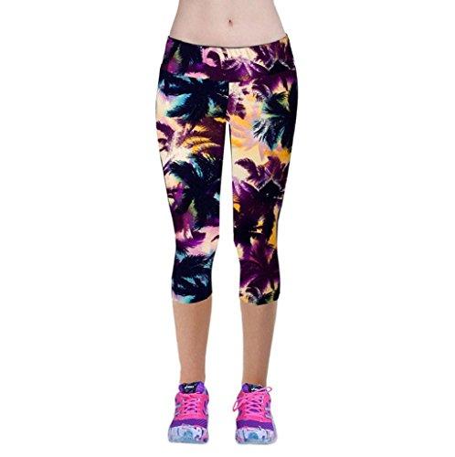 Pantalones mujer deporte Sannysis YOGA Pantalones, Legging Mallas para