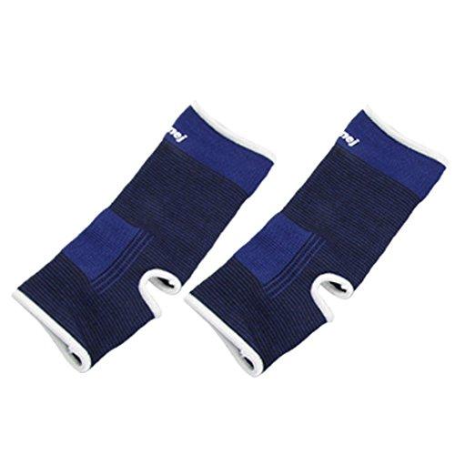 1 Paar Schwarz Blau Pullover elastischen Knöchel Unterstützung Protector - Pullover Knöchel-unterstützung