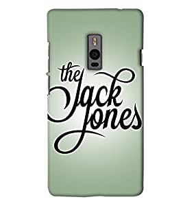 Go Yankee jack & jones back Cover For One Plus Two