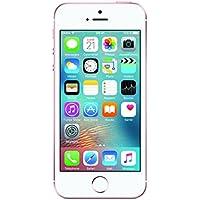 Apple iPhone SE Smartphone débloqué 4G (Ecran : 4 pouces - 64 Go - Simple Nano SIM - iOS) Or Rose