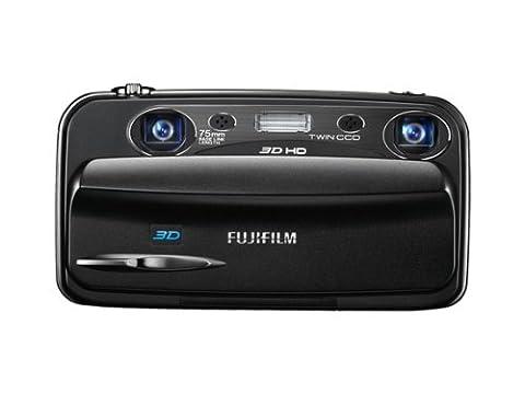 Fujifilm FINEPIX REAL 3DW3 Digitalkamera (10 Megapixel, 3-fach opt. Zoom, 8,9 cm (3,5 Zoll) Display, 3D
