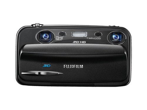 Fujifilm FINEPIX REAL 3DW3 Digitalkamera (10 Megapixel, 3-fach opt. Zoom, 8,9 cm (3,5 Zoll) Display, 3D Aufnahmen)