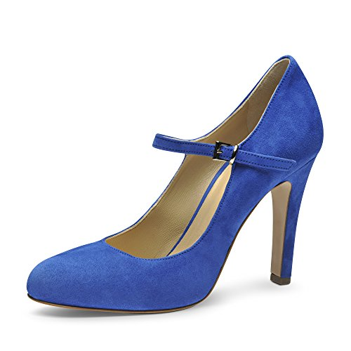 Sandales Femmes Royal / Blanc / Bleu Madeleine jmbR2aWmWh