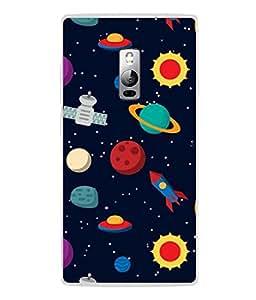 PrintVisa Designer Back Case Cover for OnePlus 2 :: OnePlus Two :: One Plus 2 (Art Modern Shape Symbol Illustration Decoration Frame Stylish)