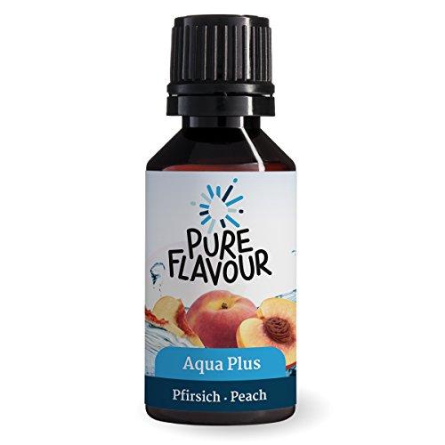 Image of AQUA PLUS Pfirsich | Geschmack für Wasser | Die Sirup Alternative |Aromatisiert bis zu 15 Liter Wasser