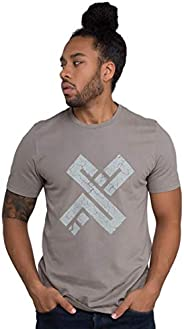 XDubai Men's The X Stone Cotton Cool T-Shirt, Cool