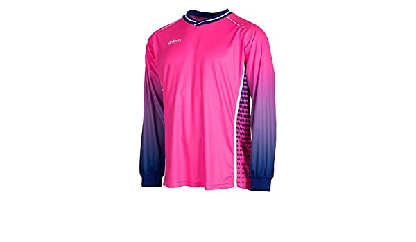 164//S Reece Luke HockeyTorwart Trikot neon pink-blau Kinder neon pink-deep blue