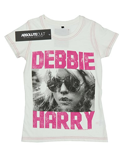 Aftershow Femme Blondie Debbie Harry T-Shirt Vintage White