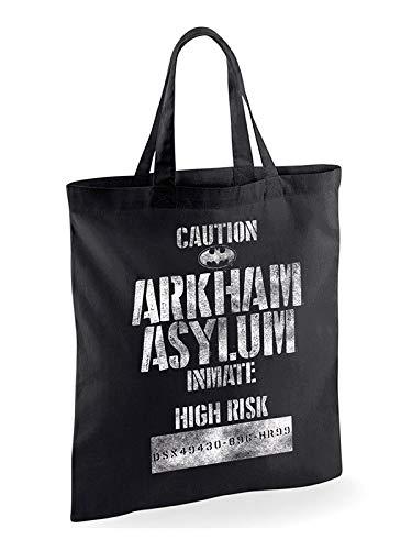 Bag (Unisex-) Arkham Asylum Inmate (Black) (Arkham City Asylum)