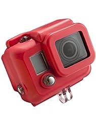 Mantona Silikon-Schutzhülle für GoPro Hero 3 rot