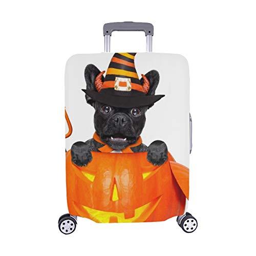 alloween Teufel Französische Bulldogge Hund Innerhalb Staubschutz Trolley Protector case Reisegepäck Beschützer Koffer Abdeckung 28,5 X 20,5 Zoll ()