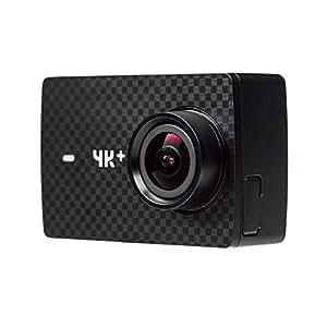 YI 4K+ Caméra d'action Caméra sport 4K/60fps 12MP avec Objectif Grand Angle 155° Ecran Tactile LCD 2.2'' WiFi App pour iOS/Android - Noir