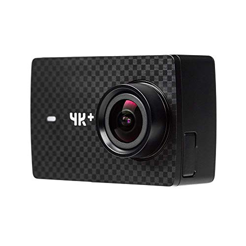"YI 4K Plus Sports Action Camera Ultra HD 4K/60fps 12MP Wifi Helmet Camera with 2.2"" LCD Touch Screen Voice Control (Black) (Camera Only)"