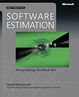 Software Estimation: Demystifying the Black Art: The Black Art Demystified (Best Practices (Microsoft)) (0735605351) | Amazon price tracker / tracking, Amazon price history charts, Amazon price watches, Amazon price drop alerts