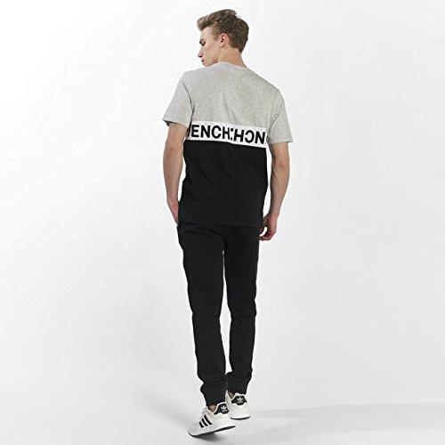 Bench Uomo Maglieria/T-Shirt Colorblock Tee Nero