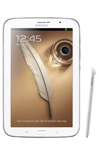 Samsung Galaxy Note 8.0 N5100 Tablet WiFi + 3G (20,32 cm (8 Zoll) Display, 16 GB interner Speicher, Android 4.1 Betriebssystem, 2 GB RAM, WLAN n-Standard, S-Pen) weiß (Samsung Galaxy Note Tablet 16gb)